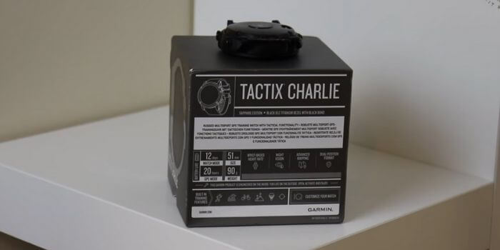 Difference between Garmin Tactix Charlie and Fenix 5x GPS Watch